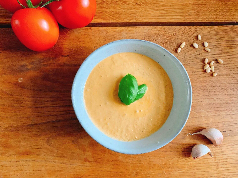 Ricotta-tomaat pesto