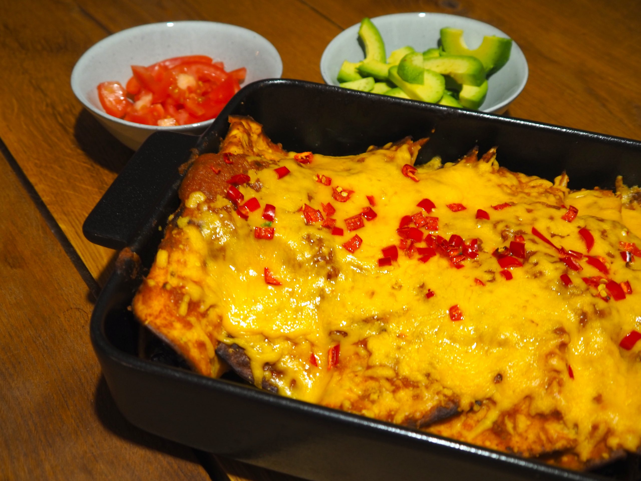 Enchilada's Rojas