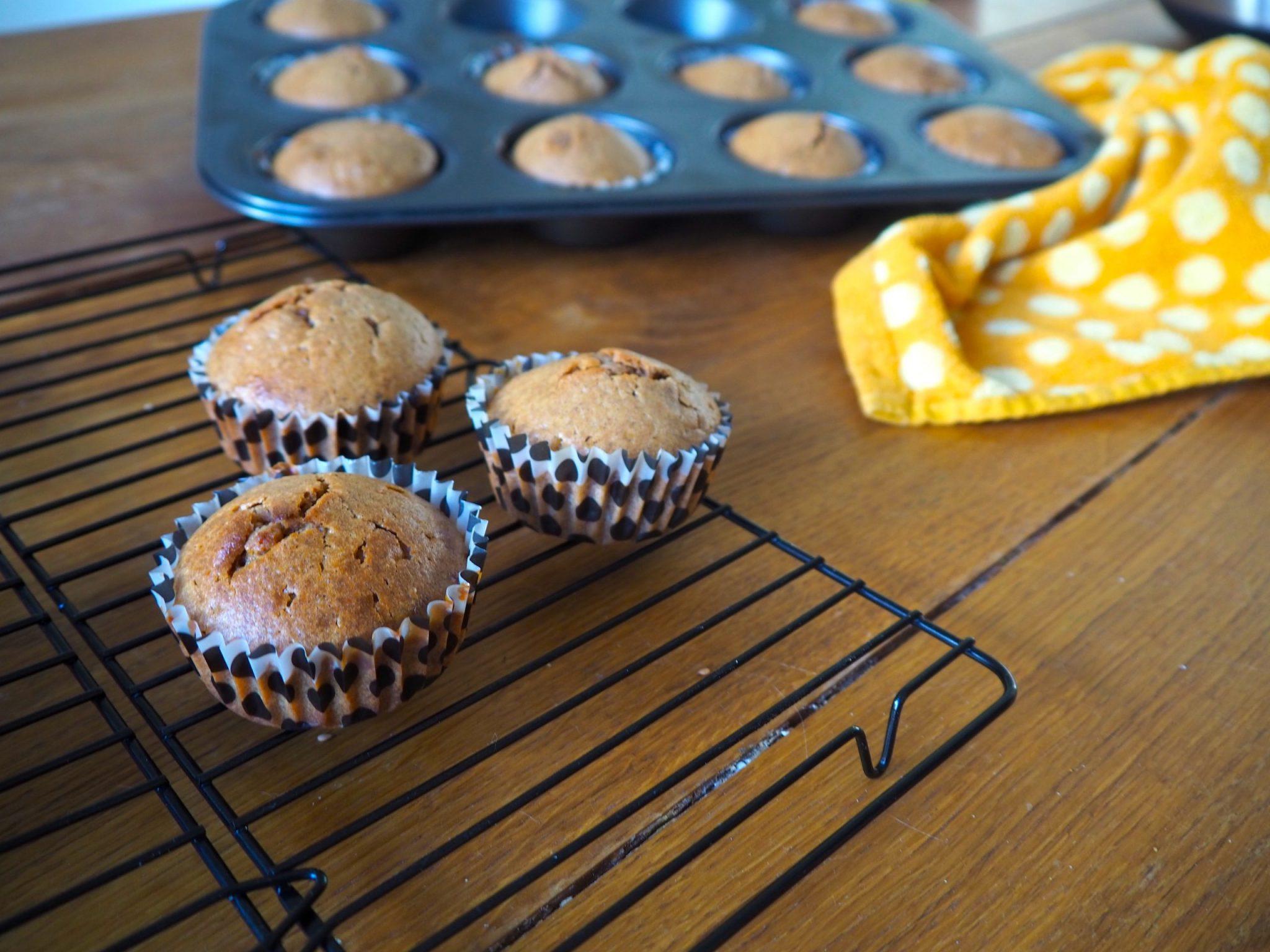 Stroopwafel-kaneel muffins